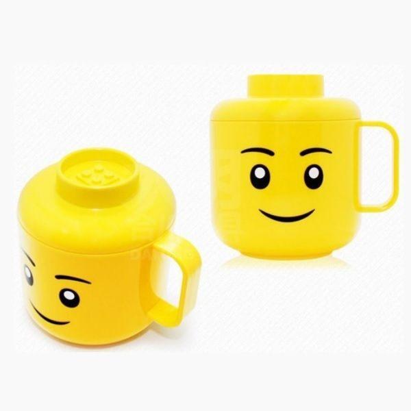 《OXFORD》積木臉孔造型杯(附蓋)Cupwithlid
