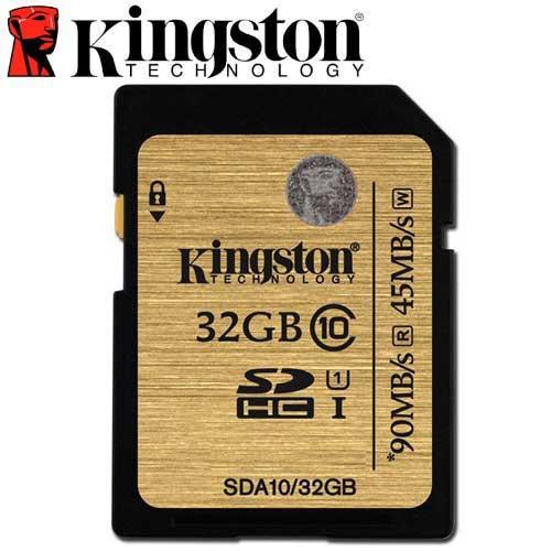Kingston 金士頓 32GB 90MB/s SDHC SD UHS-I U1 C10 記憶卡