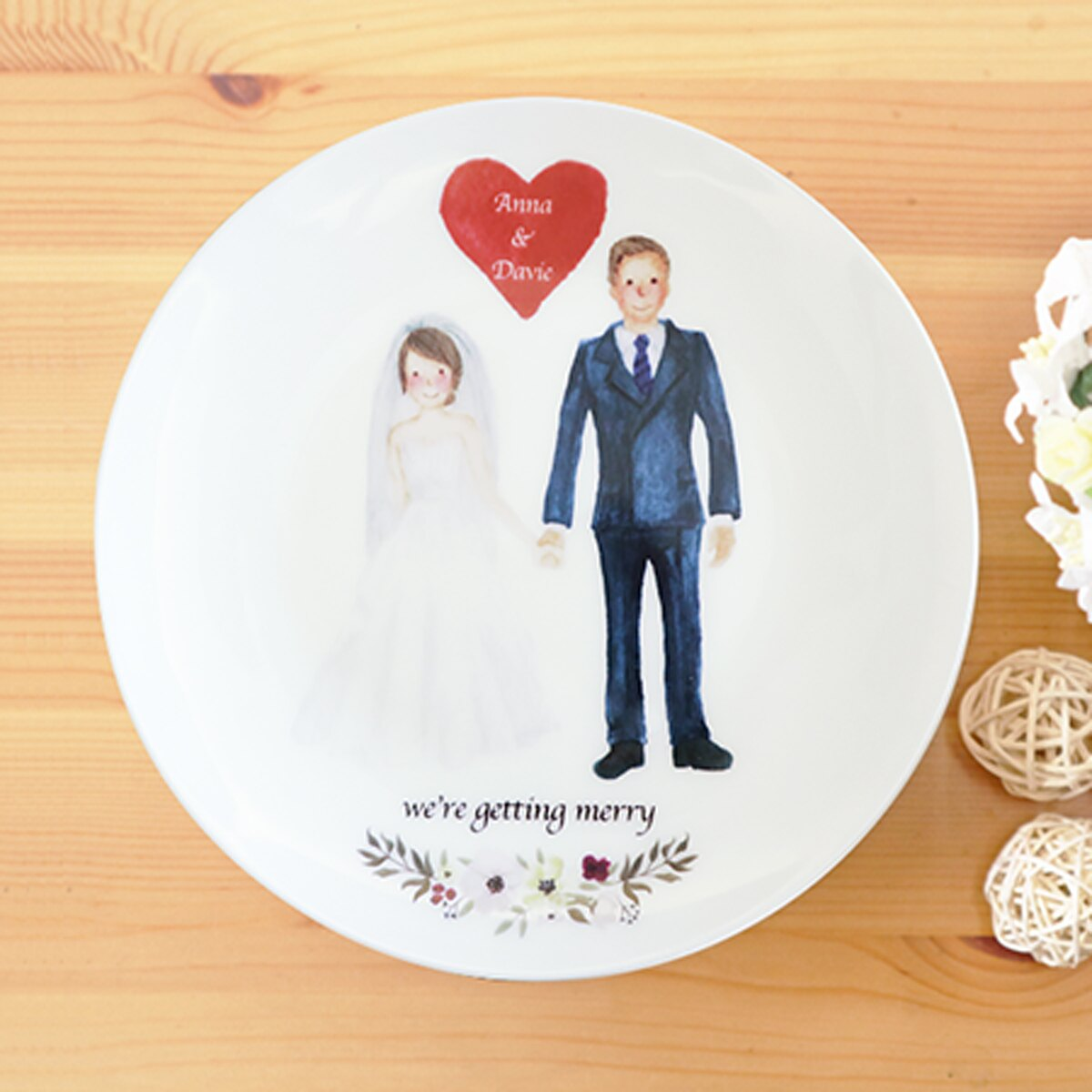《陶緣彩瓷》 我們要結婚了 We\