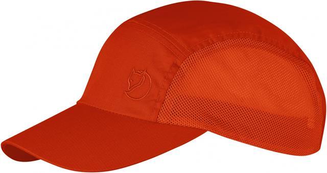 Fjallraven 小狐狸High Coast Vent 防曬鴨舌帽/獵裝帽/遮陽透氣棒球帽 77367 214 火焰橘
