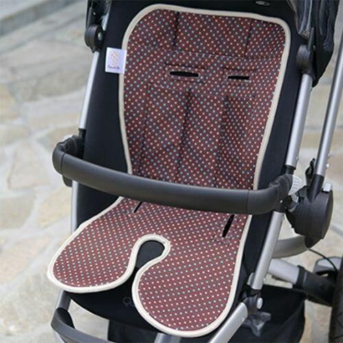 ★衛立兒生活館★Baby Seater嬰兒專用涼感墊推車涼墊(香榭可可)+日本專利保冰袋