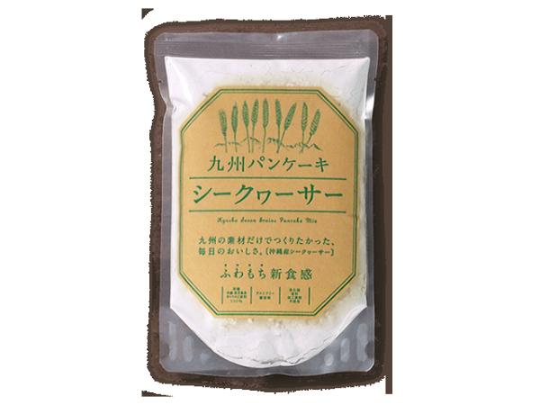 日本必買免運代購-日本Kyunan九州香檬薄煎餅粉1500。共1色