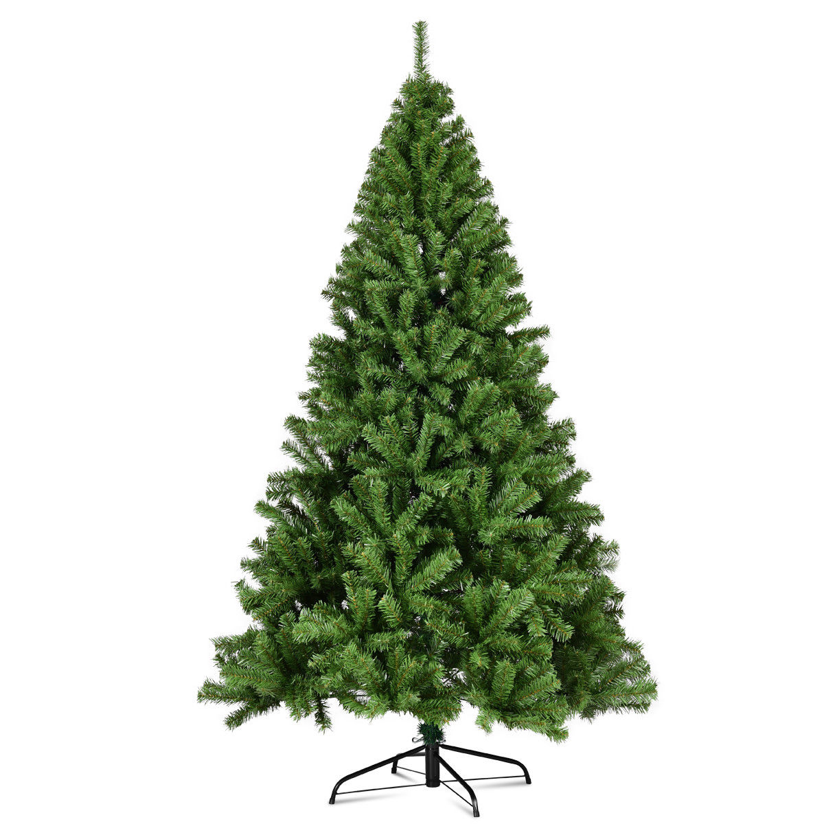 Costway 7.5ft Pvc Artificial Christmas Tree