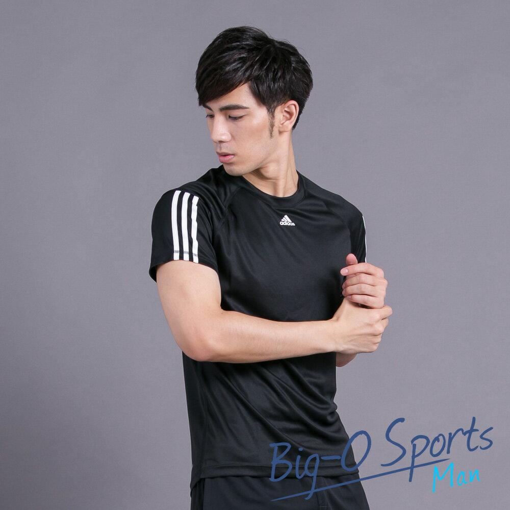 ADIDAS 愛迪達 TRAINING BASE BASE 3S TEE 慢跑短袖T恤 男 AJ5742 Big-O SPORTS