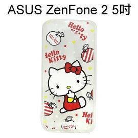 利奇通訊 Hello Kitty 透明軟殼 [紅] ASUS ZenFone 2 ZE500CL Z00D (5吋)【三麗鷗正版授權】