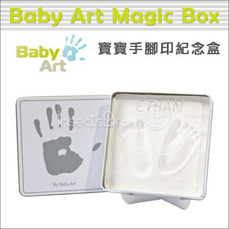 ?蟲寶寶?【比利時Baby Art Magic Box】寶寶手腳印紀念 / 手腳膜 - 方形魔術紀念盒