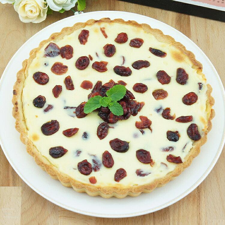【朵芮莎 烘焙坊】乳酪蔓越莓派 8吋 - 限時優惠好康折扣