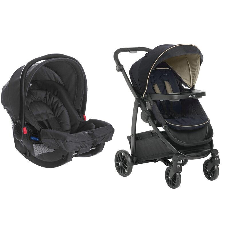 GRACO - MODES + SNUGRIDE多功能型雙向嬰幼兒手推車提籃系列及嬰幼兒汽車安全座椅[贈涼墊] 2