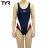 美國TYR女用修身款泳裝Delora Aeroback Navy 台灣總代理 - 限時優惠好康折扣