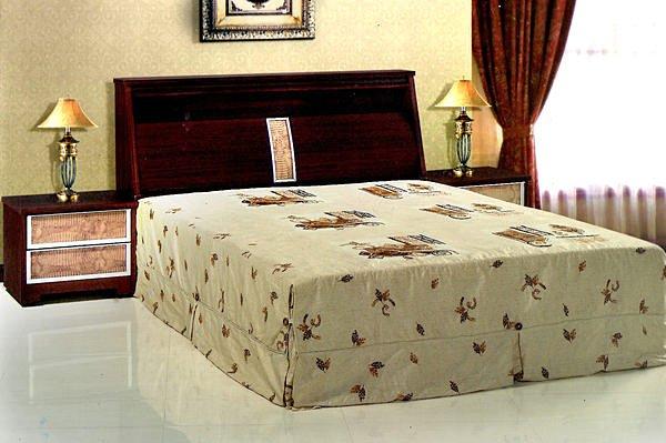 【尚品傢俱】669-06 胡桃仿鱷魚皮紋5尺雙人床頭箱~~另有6尺