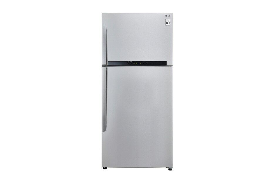 LG 樂金 Smart 變頻上下門冰箱 精緻銀 / 525公升 GN-B560SV
