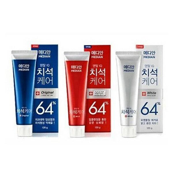 韓國 愛茉莉MEDIAN 86%強效牙膏