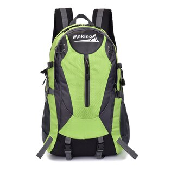 良林皮件:【MNKINO】40L戶外旅行休閒後背包登山背包(綠)FK012GN