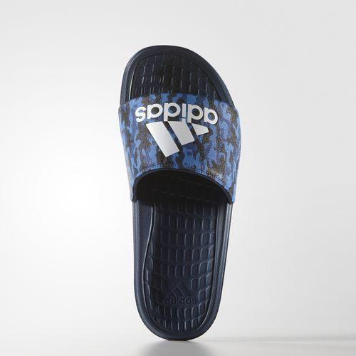 《限時特價↘829免運》Adidas Voloomix Camo Slides 男鞋 拖鞋 運動 藍 白 迷彩 【運動世界】 AQ2575