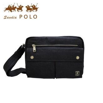 加賀皮件 Sandia Polo 多色/雙口袋/斜背包/側背包/肩背包 PO35-616