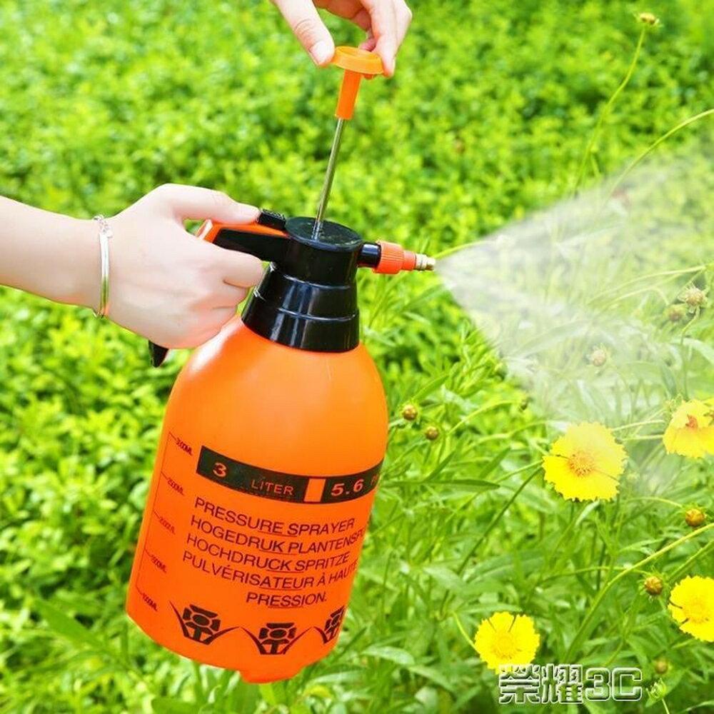 免運 噴霧器 壓力噴壺園藝灑水壺氣壓式噴水壺澆花噴壺養花工具噴水壺噴霧器2L