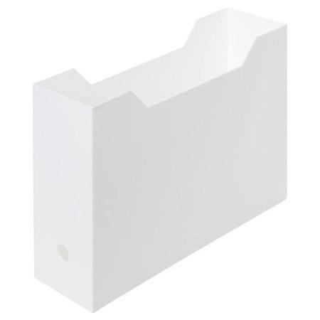 A4 文件整理盒 檔案整理架 全白 NITORI宜得利家居