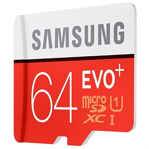 Samsung EVO+ 64GB microSDXC Class 10 64G EVO Plus microSD micro SD SDXC 80MB/s UHS-I U1 C10 MB-MC64DA with Original SD Adapter 2