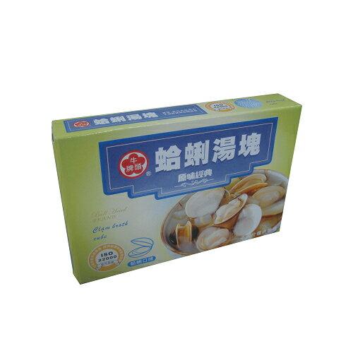 牛頭牌蛤蜊湯塊11g*6小塊【愛買】