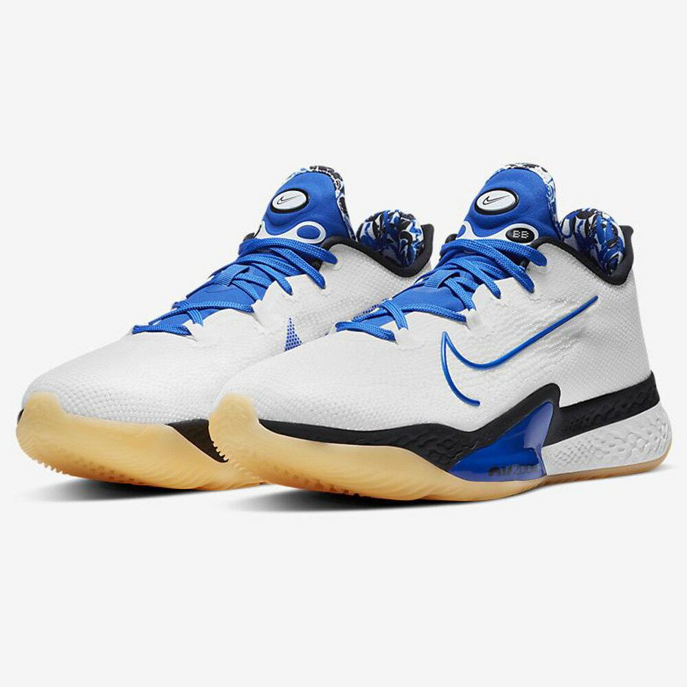 【領券最高折$300】Nike Air Zoom BB NXT EP 男鞋 籃球 氣墊 緩震 靈敏 白藍 【運動世界】 DB9991-100