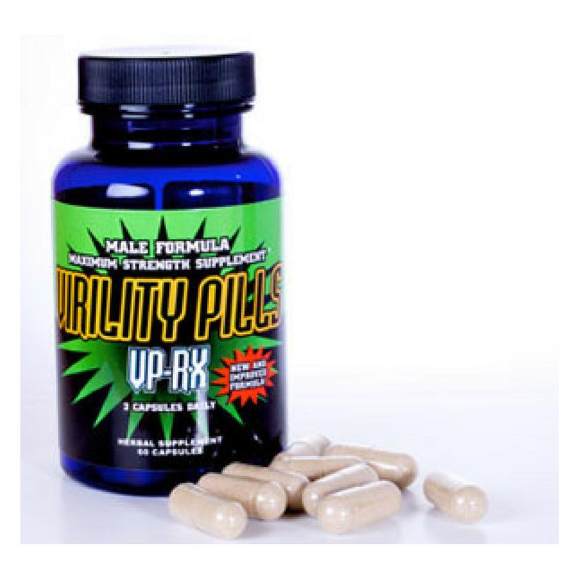 Virility Pills VP-RX-Male Enhancement Male Enlargement-Bigger-VPRX 60ct 0