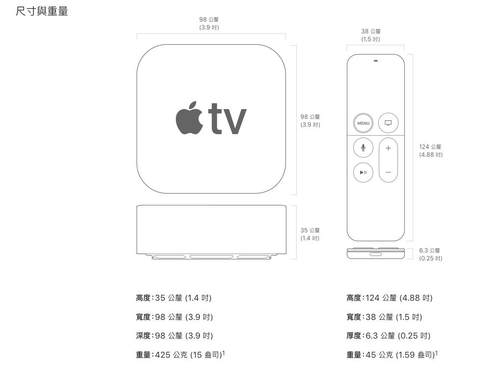 【32G限時降價】Apple 原廠 新Apple TV 4K版本 32G / 64G 台灣公司貨 保固一年 1