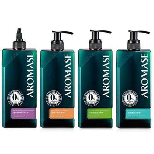AROMASE 艾瑪絲 5α高效控油 舒敏平衡 強健豐盈洗髮精 捷利爾角質淨化液 高階版