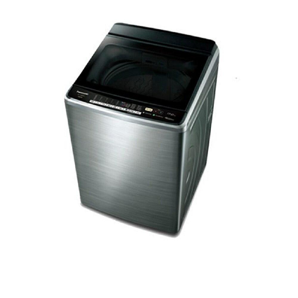 秀翔電器SS3C 【APP領券9折】Panasonic 國際牌NA-V188EBS-S 不鏽鋼 17公斤 直立式變頻洗衣機