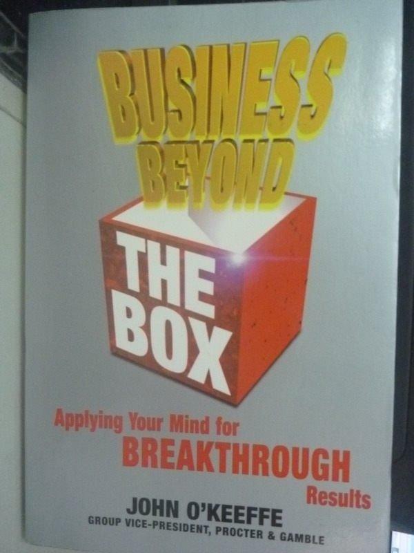 【書寶二手書T5/心理_ZCS】Business Beyond the Box: Applying