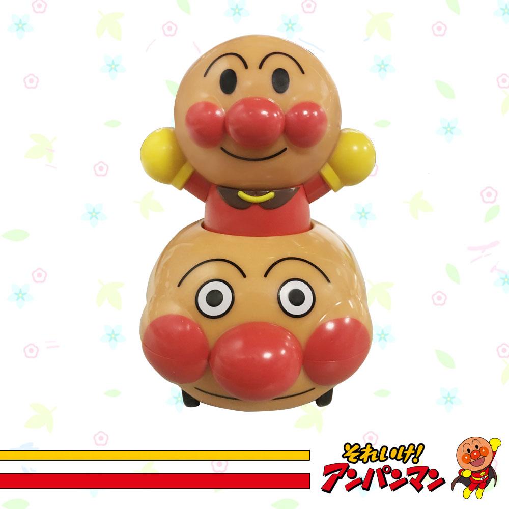 Anpanman麵包超人滾筒印章玩具 公仔 玩具車 造型 好寶寶 滾輪 連續印章 日本進口正版 312753
