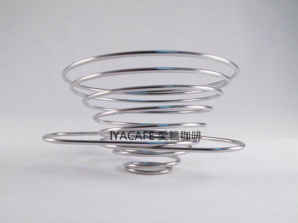 《愛鴨咖啡》超方便攜帶型濾杯 伸縮 不銹鋼濾杯 彈簧濾杯 1-2 / 2-4人份 鐵圈加厚、高度加高