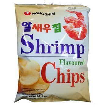 韓國農心鮮蝦餅75g【合迷雅好物商城】