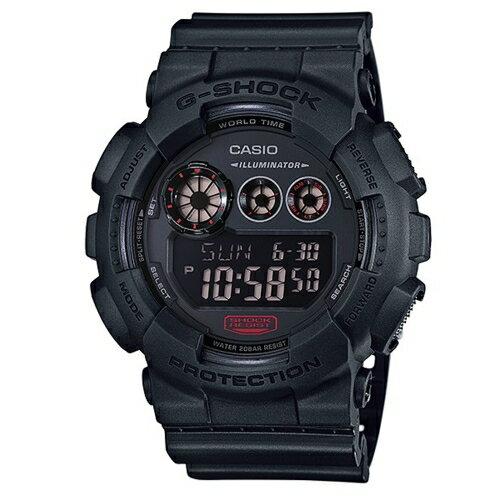 CASIO G-SHOCK 霸氣流行運動腕錶/黑/GD-120MB-1DR