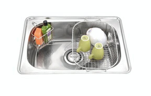 廚房水槽   崁入式雙層橢圓水槽(亮面)   JT-1669L