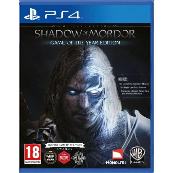 現貨供應中 英文版 [限制級] PS4 中土世界:魔多之影 年度版
