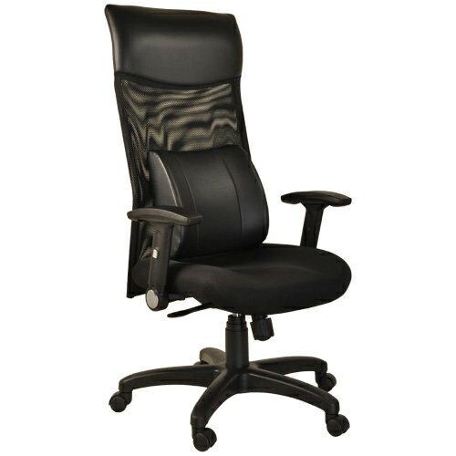 【凱堡】尊爵護腰高背透氣網布電腦椅/辦公椅A48023