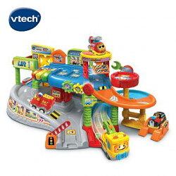 ★Vtech系列滿$1999再送收納箱★ 美國【Vtech】嘟嘟車系列-探索城市軌道組