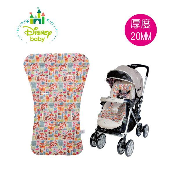 小奶娃婦幼用品:ViViBaby-Disney迪士尼小熊維尼推車防汙睡墊