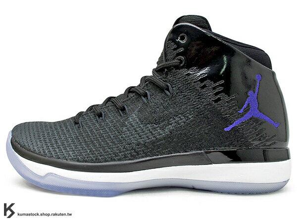 2016 雷霆隊 Russell Westbrook 代言 新生代飛人 限量發售 史上最強 NIKE AIR JORDAN XXX1 31 BG GS SPACE JAM 大童鞋 女鞋 黑藍 怪物奇兵 飛人  FLYWEAVE 鞋面 氣墊 籃球鞋 (848629-002) !