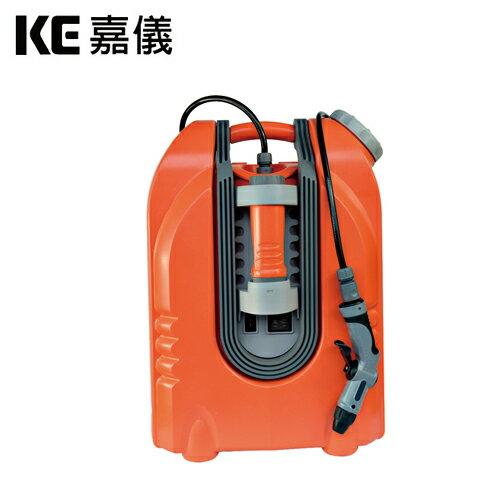 嘉儀iwasher充電式行動高壓清洗機KEC-20L【三井3C】
