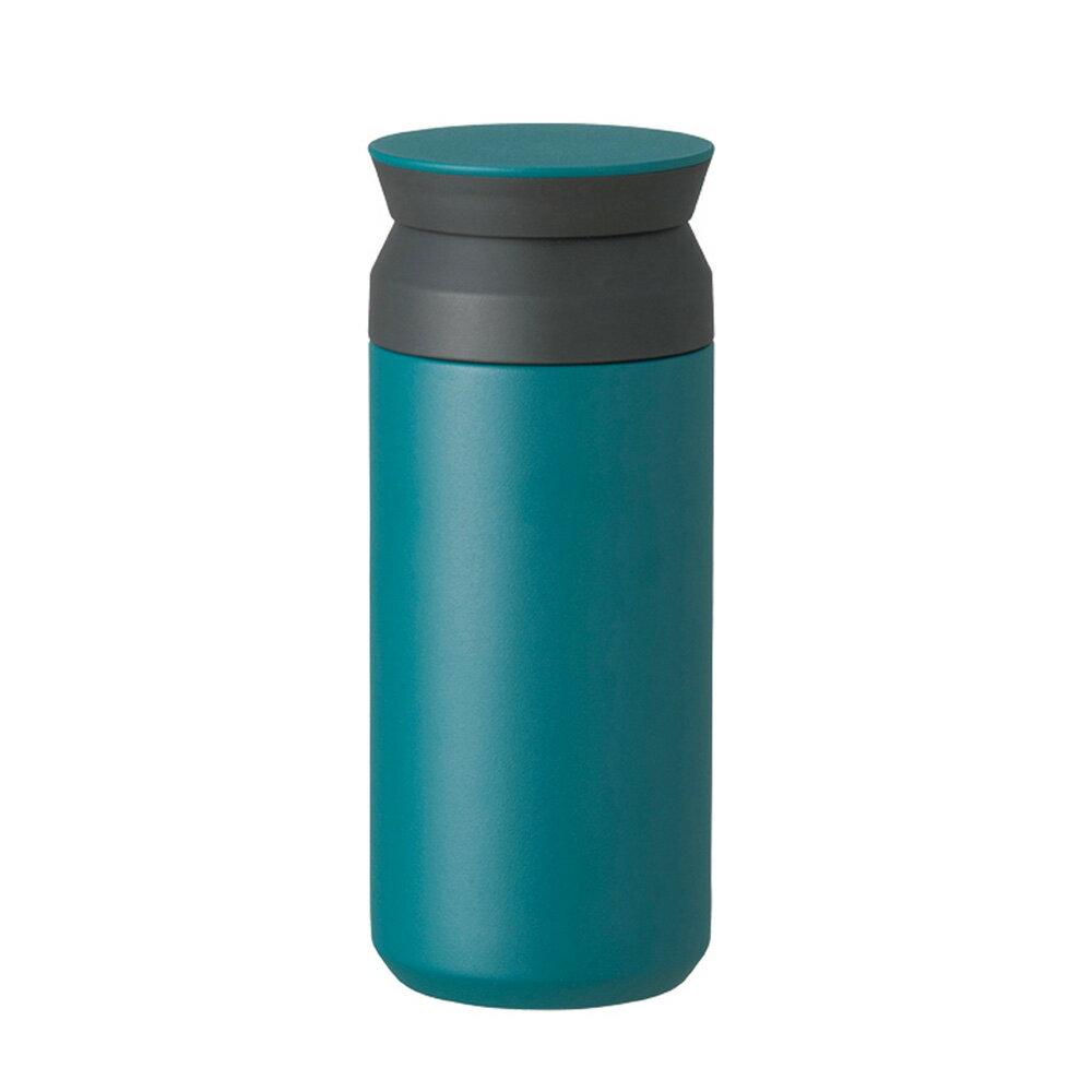 KINTO | TRAVEL TUMBLER 隨行保溫瓶 350ml - 藍綠