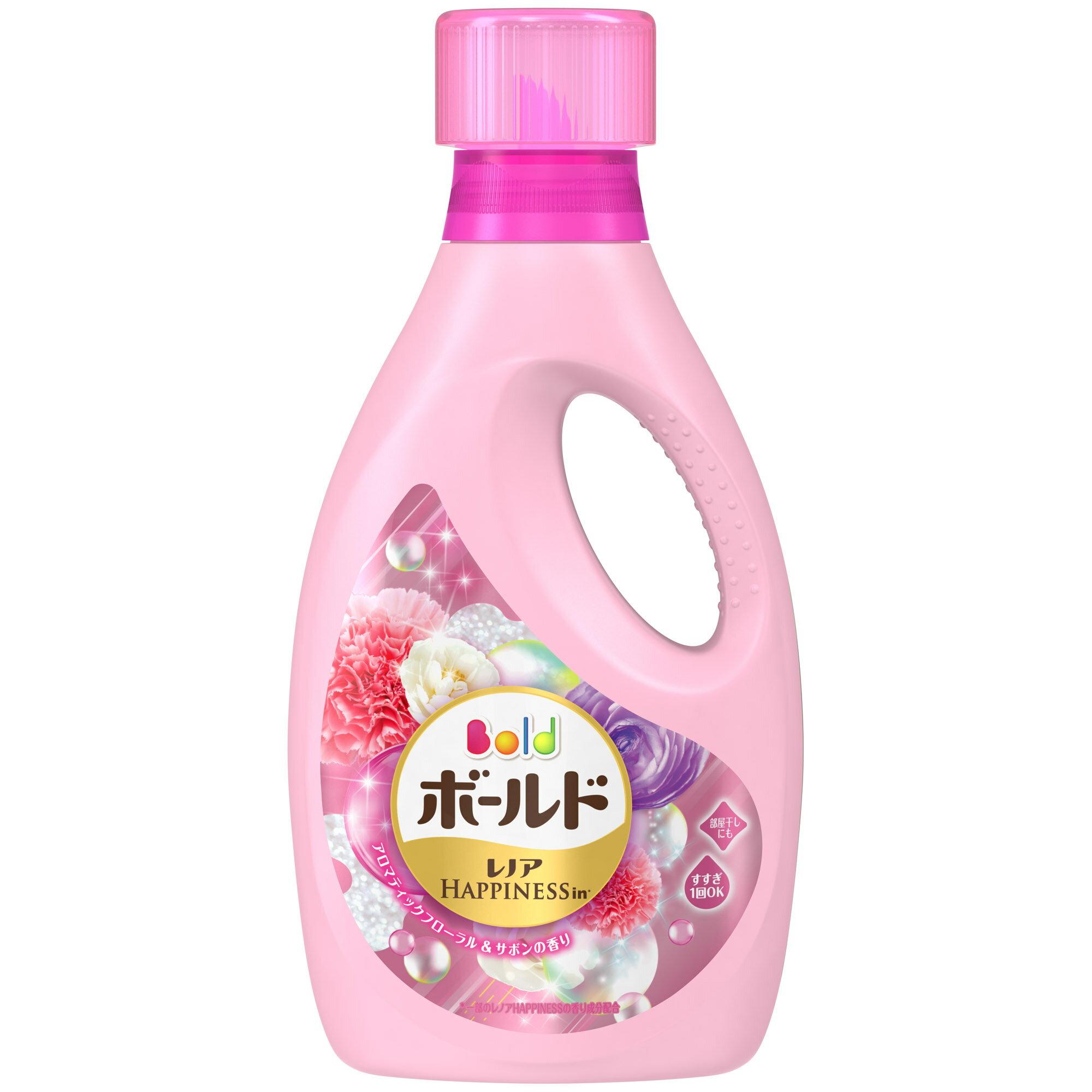 日本P&G Bold 香氛柔軟洗衣精 850g 白牡丹花香 -日本必買