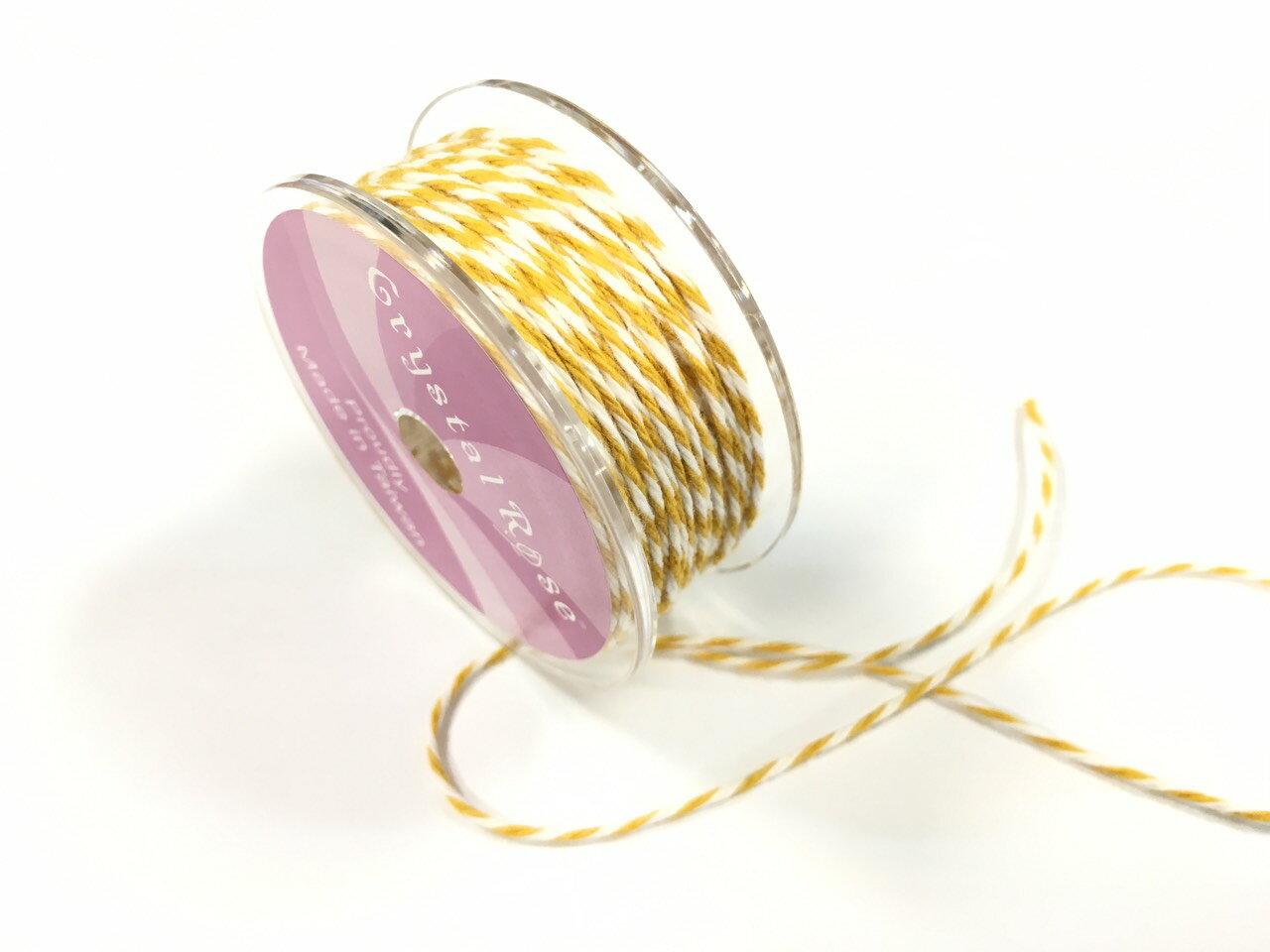 雙色綿繩緞帶 2mm 10碼裝 (11色)