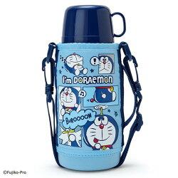 X射線【C962053】哆啦A夢 2way不鏽鋼水壺670ml(藍),隨手瓶/保溫杯/直飲式水壺/保冷保溫/環保