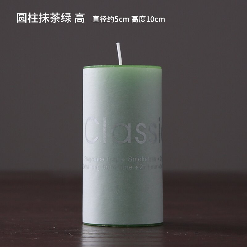 香薰蠟燭 美式北歐小眾擺件伴手禮白色小香薰蠟燭燭樣板間燭臺歐式擺品香氛『CM39056』