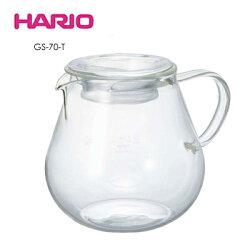 《HARIO》簡約耐熱玻璃700ml 咖啡壺 / GS-70-T