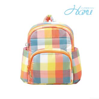 HARU 小晴天本舖媽媽包 日本布料 小童背包【糖果黃】