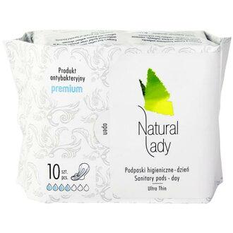 Natural Lady漢方草本 衛生棉 日用 24cm 10片