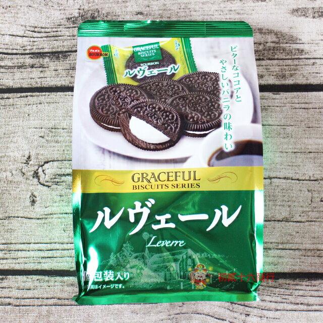 【0216零食會社】北日本 黑餅香草夾心餅108g