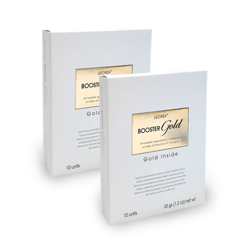 LEOREX 24K金頂級保養- 黃金速感緊緻面膜2盒組